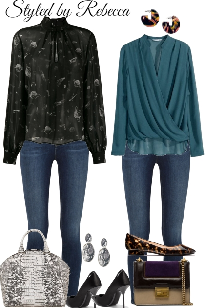 Jeans And Blouses-Set 1 5/16/21