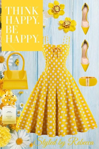 Yellow Style,Happy Girl