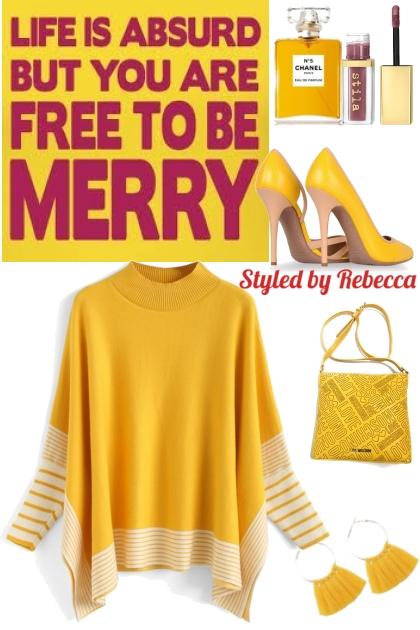 Merry Yellow Tops