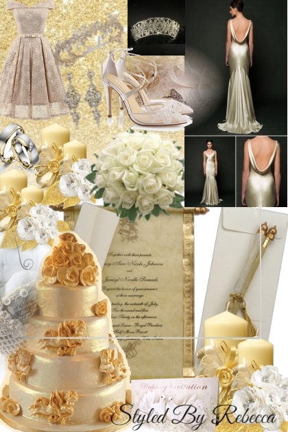 Golden Wedding Trends In May 2021