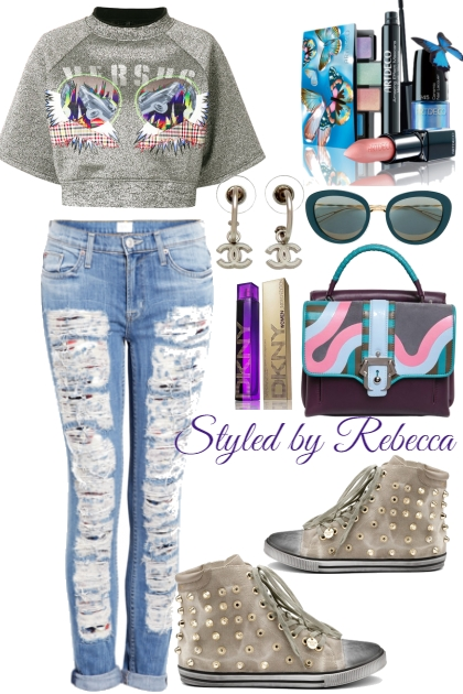 Street  Ripped Jeans