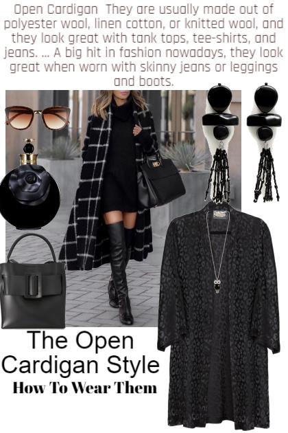 Open Cardigan Style
