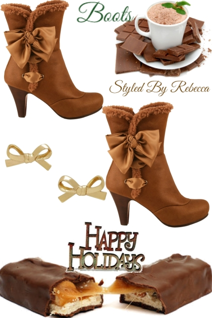 Happy Holiday Boots-5/25/21