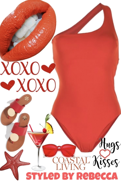 XOXO Summer Red