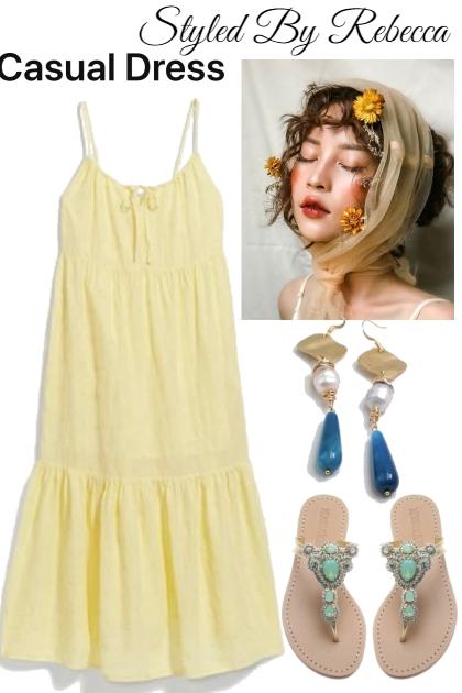 Casual Summer Dress-7/21/21