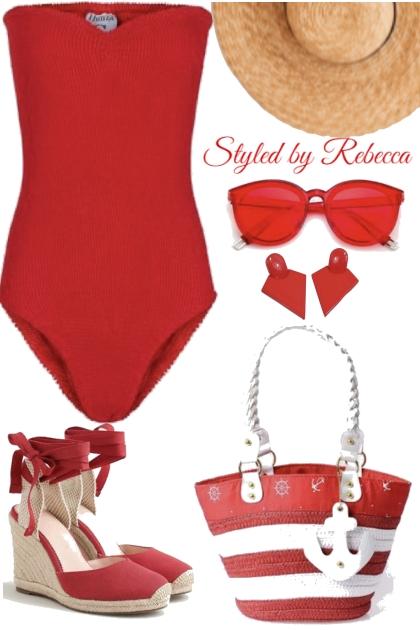 Red Summer Beach