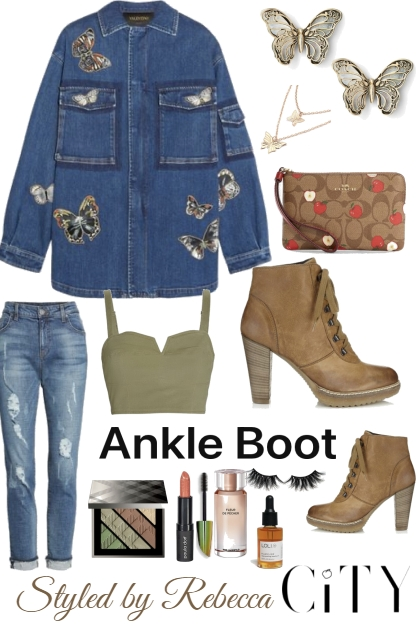 Ankle Boots For September City Streets