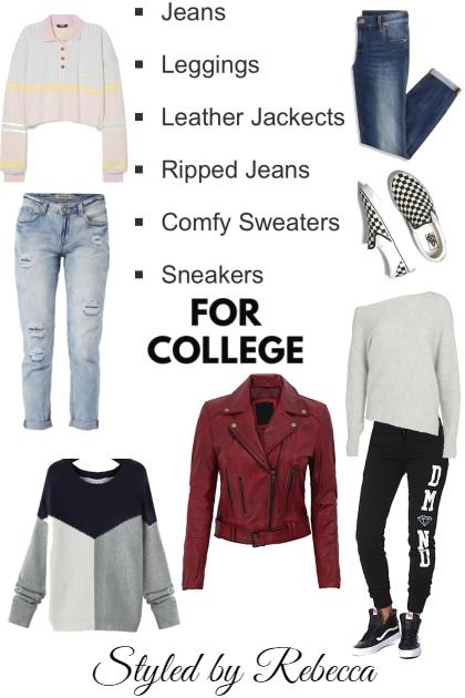 College Wardrobe List