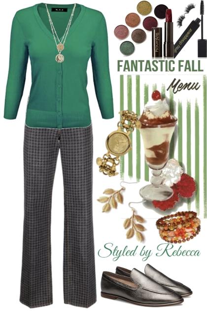 Fantastic Fall Green- Modekombination