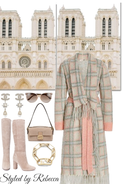 Cool weather pastel coats