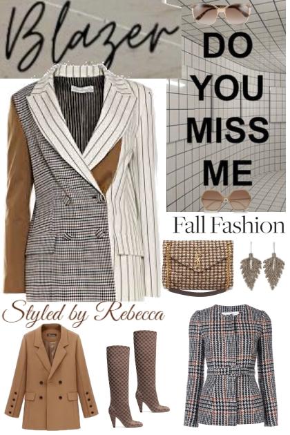 Blazer Fall Fashion