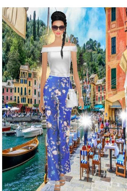 Summer in Portofino Italy...