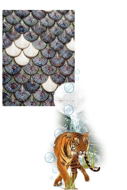 Feathers and tigers