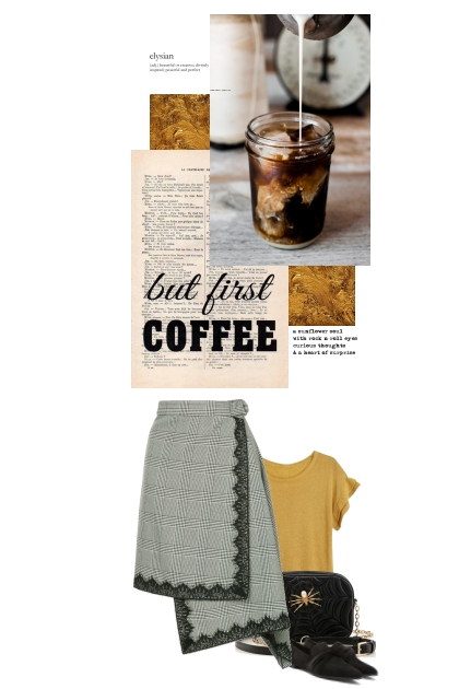 Coffee and gold