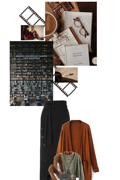 Reading/writing moodboard