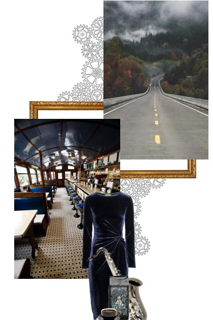 Modern noir (story style) idea- Fashion set
