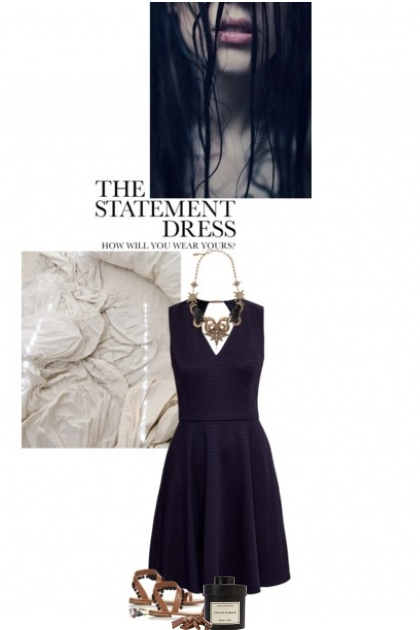 The statement dress