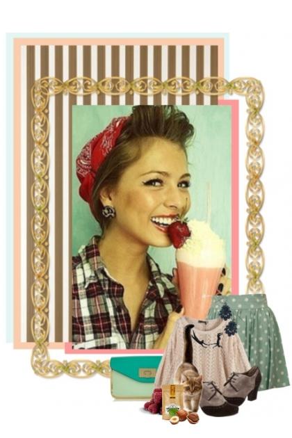 Spring milkshake