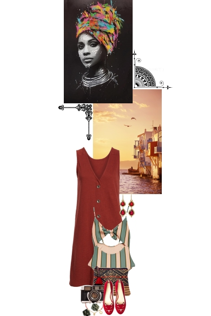 Such a grand and wonderful life you'll be living- Fashion set