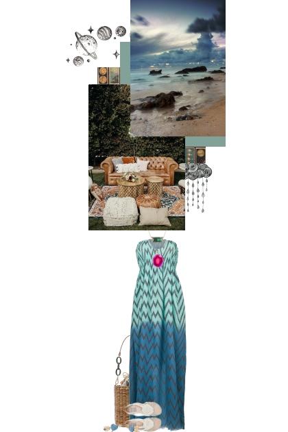 For love, the ocean and the rain- Combinaciónde moda