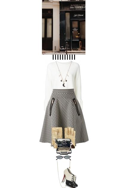 Black and white day- Fashion set