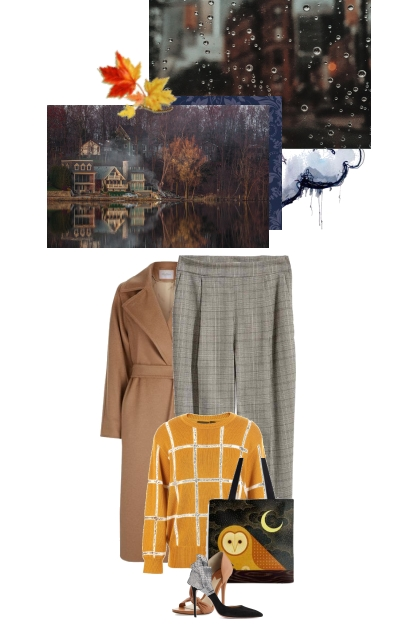 The greys and colourfuls of autumn- Fashion set