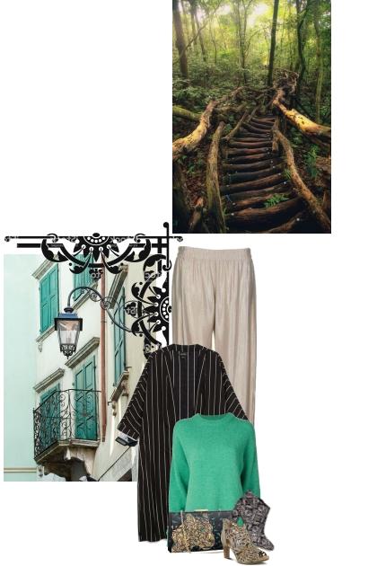 Urban vs Nature- Fashion set