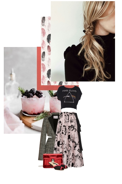 Pastel and black eclectic rock