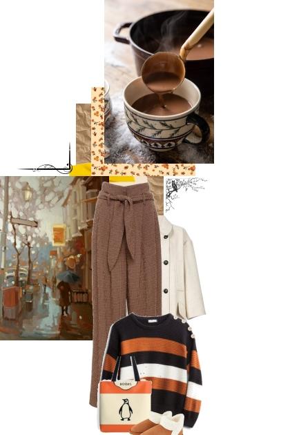 autumn comforts- Fashion set