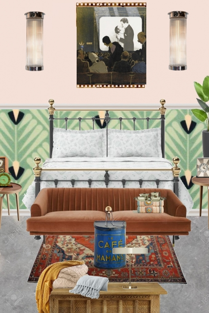 modern deco bedroom- Fashion set