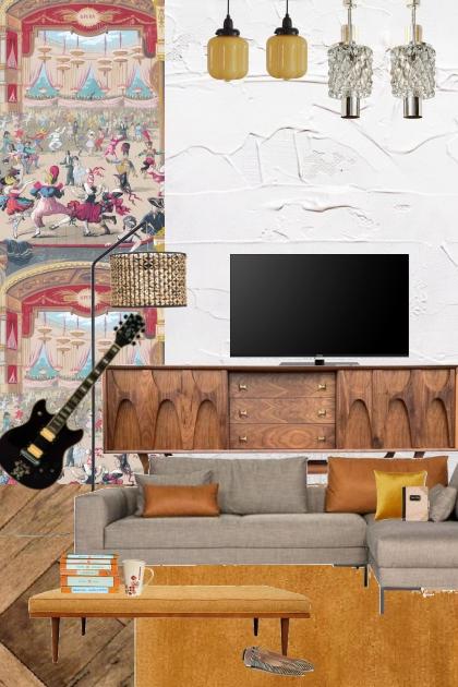 The artists home- Modekombination