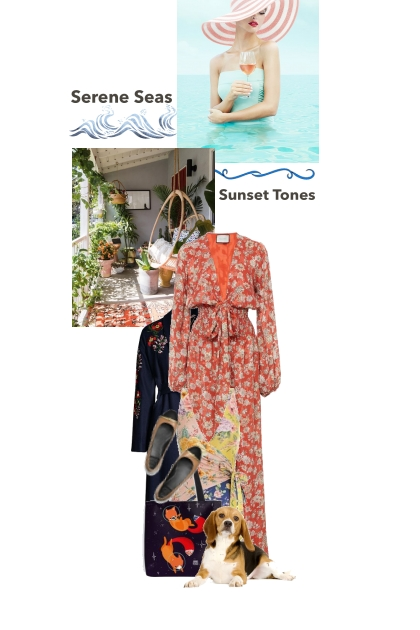 Oh to have an ocean front home- Fashion set