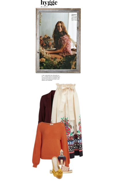 Spring showers and hygge- Fashion set