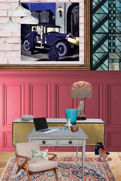The interior designers office
