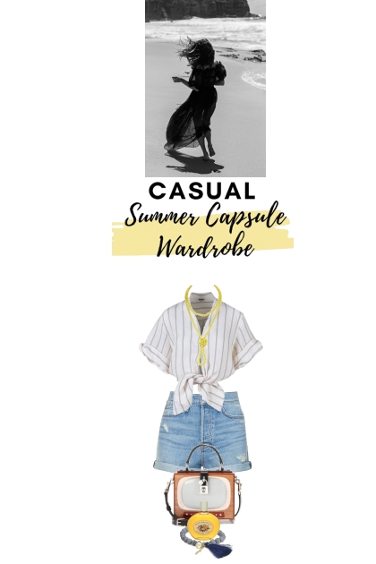 Summer capsule wardrobe and their lack of shoes