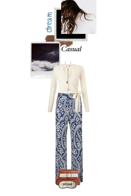 Casual dreams- combinação de moda