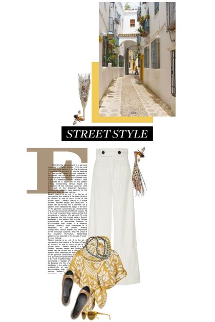Streetstyle in Cordoba- Combinaciónde moda