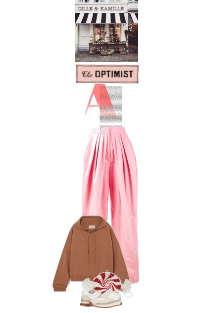 The optimist look
