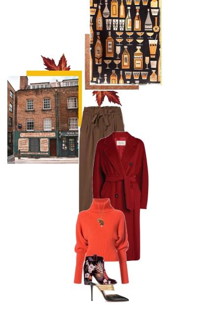 October in Shoreditch