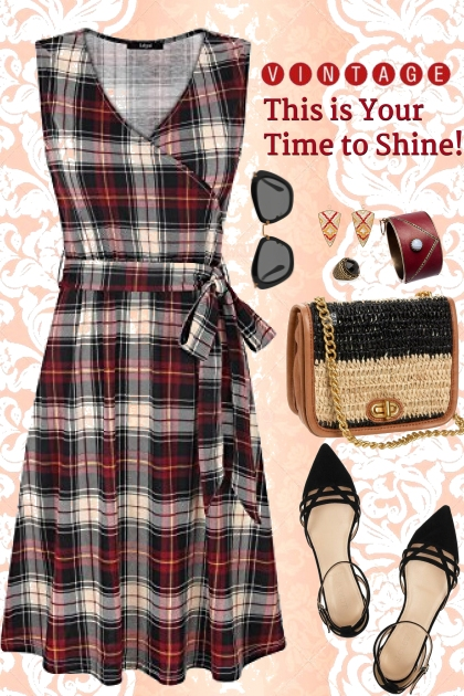 Shine in Plaid