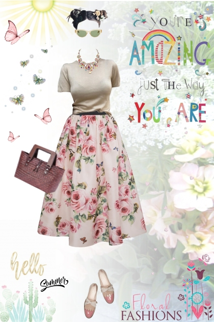 You're amazing just the way you are- Fashion set