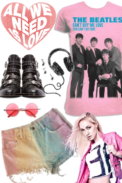 All we need is love- Fashion set
