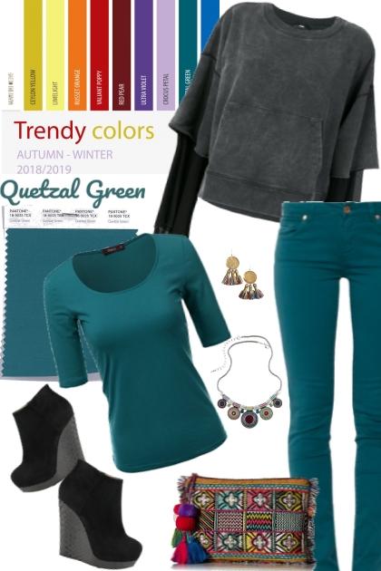 Quetzal Green (Pantone Fall/Winter 2018)