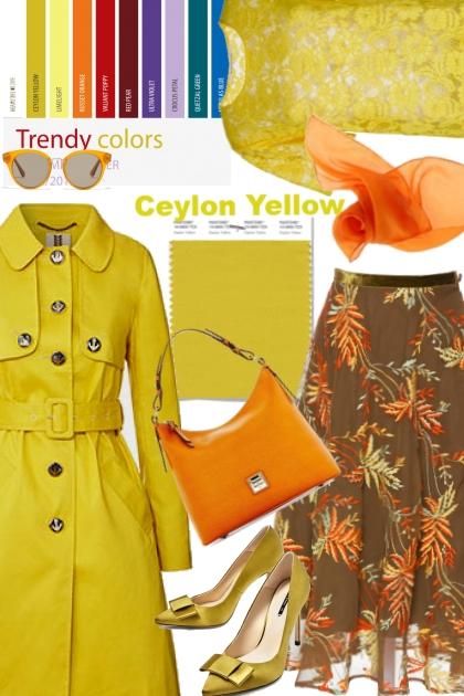 Ceylon Yellow (Pantone Fall/Winter 2018)