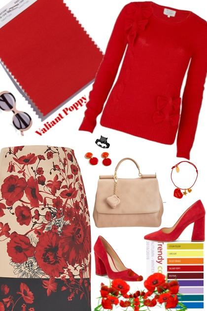 Valiant Poppy (Pantone Fall/Winter 2018)