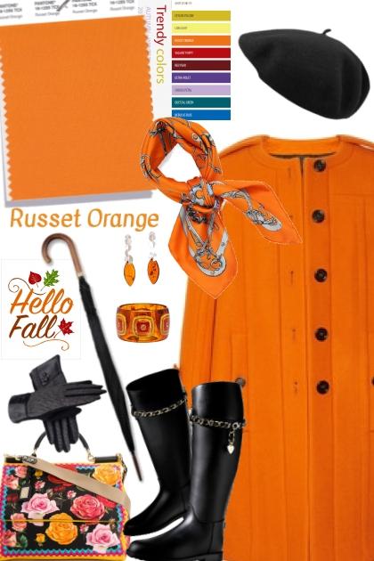 Russet Orange (Pantone Fall/Winter 2018)