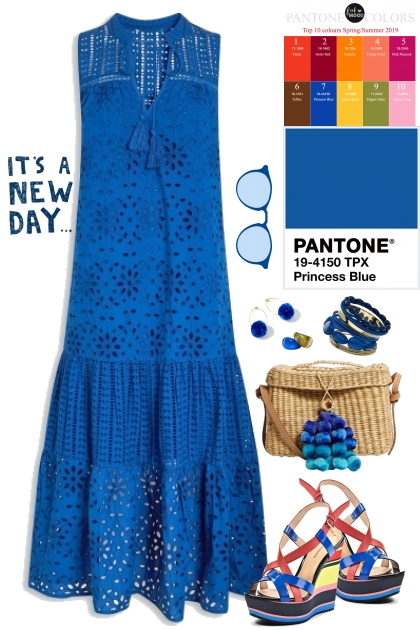 Princess Blue (Pantone Spring/Summer 2019)