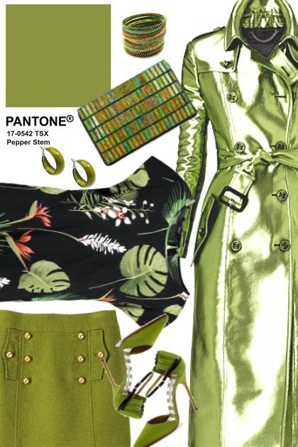 Pepper Stem (Pantone Spring/Summer 2019)