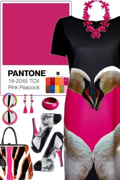 Pink Peacock (Pantone Spring Summer 2019)