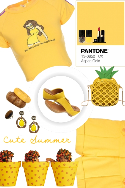 Aspen Gold (Pantone Spring Summer 2019)